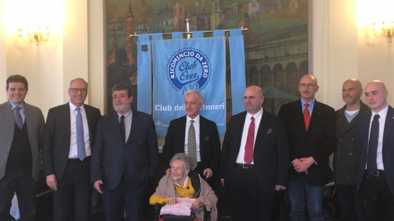 conferenza stampa Club Over 100